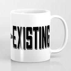 Living & Existing two Mug