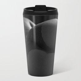 Beautiful Curves  of Woman in Lingerie Travel Mug
