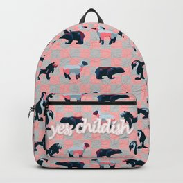 yes, childish Backpack