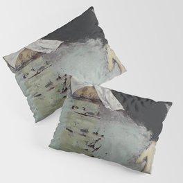 Woman in Black Pillow Sham