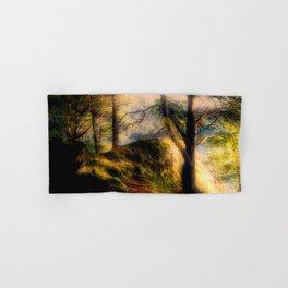 Misty Solitude, The Way Through The Woods Hand & Bath Towel
