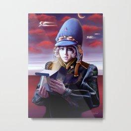 Azach, Moebius tribute Metal Print