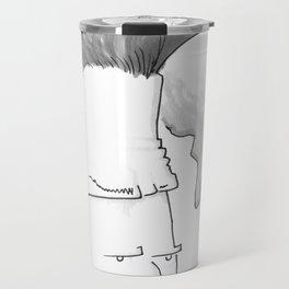 Big-haired Smoker #1 Travel Mug