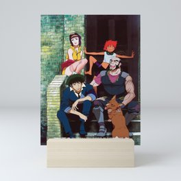 solo spike cowboy bebop main cast Mini Art Print