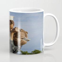 Kissing Sailor And Nurse Portrait Coffee Mug