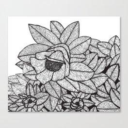 Floral Meditation 2 Canvas Print