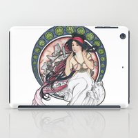 mucha iPad Cases featuring Alfons Mucha Music by Puddingshades
