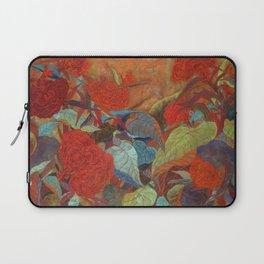 flower3【Japanese painting】 Laptop Sleeve