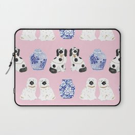 Staffordshire Dogs + Ginger Jars No. 4 Laptop Sleeve