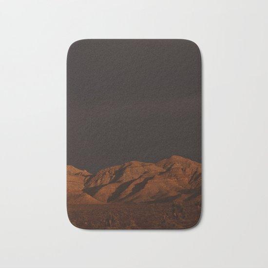 Desert Alpenglow - II Bath Mat