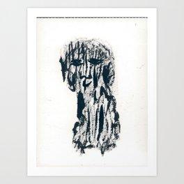Panou (the dog) Art Print