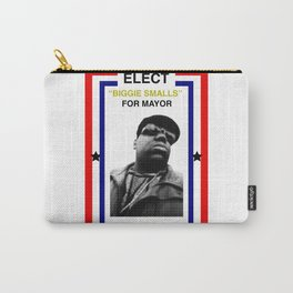 Biggie Smalls for Mayor Carry-All Pouch