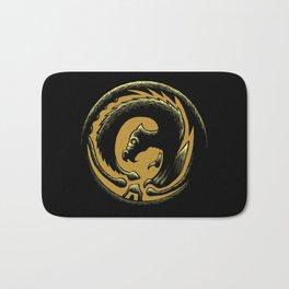 Dragon Circle Bath Mat