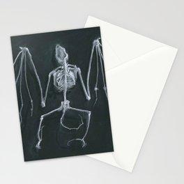 Bat Skeleton Stationery Cards