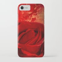 passion iPhone & iPod Cases featuring Passion by Loredana