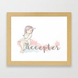 Accepter Framed Art Print