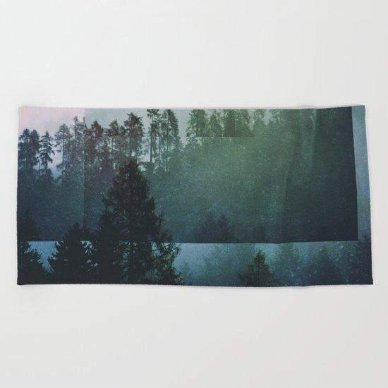 Fractions A48 Beach Towel