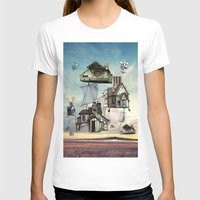 house T-shirts featuring house by Кaterina Кalinich