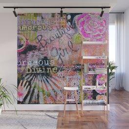 Beautiful Girl Wall Mural