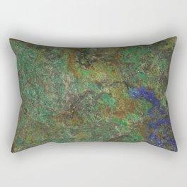 Carbonate And Azurite Rectangular Pillow