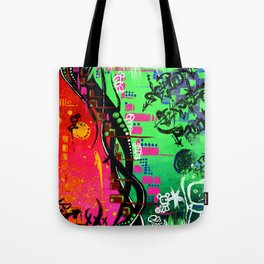 """ACTION EXPRESSES PRIORITIES"" Tote Bag"