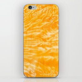 underwater fire, a coral dream of tree branches in orange iPhone Skin