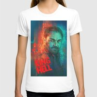 crowley T-shirts featuring Crowley... MORONS! by Sempaiko