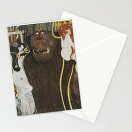 BEETHOVEN FRIEZE - GUSTAV KLIMT Stationery Cards