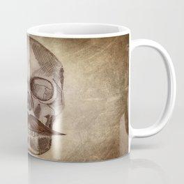 Skull Mustache Coffee Mug