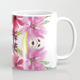 Mirrored Flower Cluster Coffee Mug