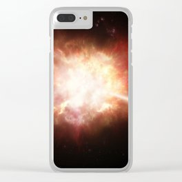 A. Roquette: Gamma Ray Burst (2009) Clear iPhone Case