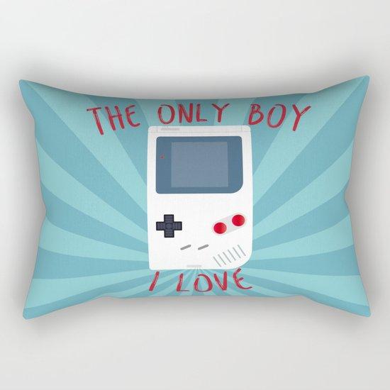 The only BOY i love! Rectangular Pillow