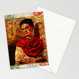 Kahlo Collage Stationery Cards