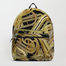 Brass Musical Instruments Backpack