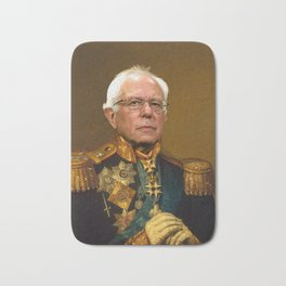 Bernie Sanders 19th Century Painting Bath Mat