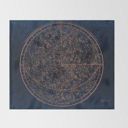 Constellations of the Northern Hemisphere Throw Blanket