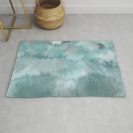 Rise and fall of the sea Rug