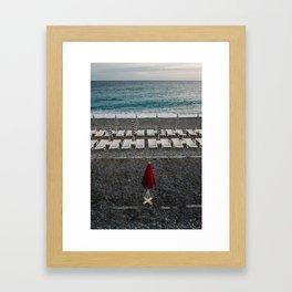 Red Nice Framed Art Print