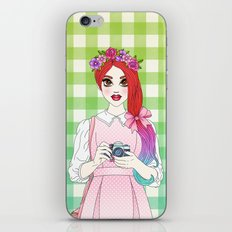 Pretty as a Picture iPhone & iPod Skin