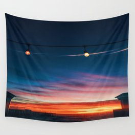 Sunset at Pismo Beach Wall Tapestry