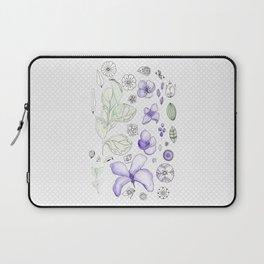 Violet Watercolor Laptop Sleeve