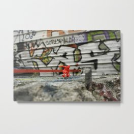 DIKKI - StreetPark series one Metal Print