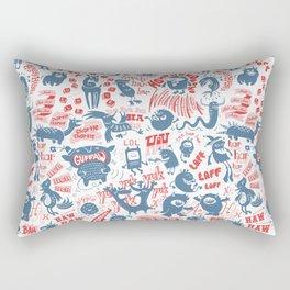 Merry Monsters Rectangular Pillow