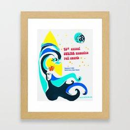 Mother Ocean Framed Art Print