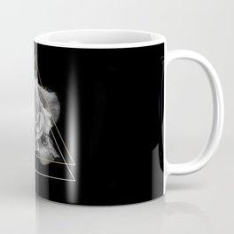 Rose Black and White Coffee Mug