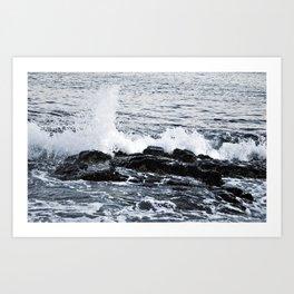 Six Days On The Coast Of The Ocean Art Print