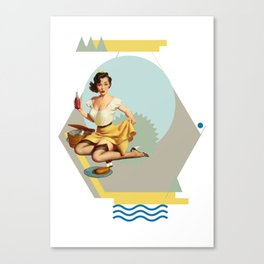 Gloria Canvas Print