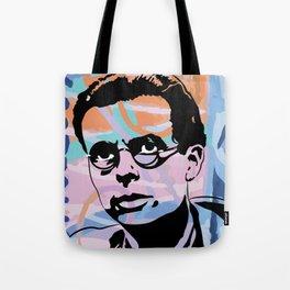 Aldous Huxley - Berlin Wall Tote Bag