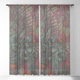 Krampus II Sheer Curtain