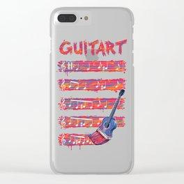 GuitArt Clear iPhone Case